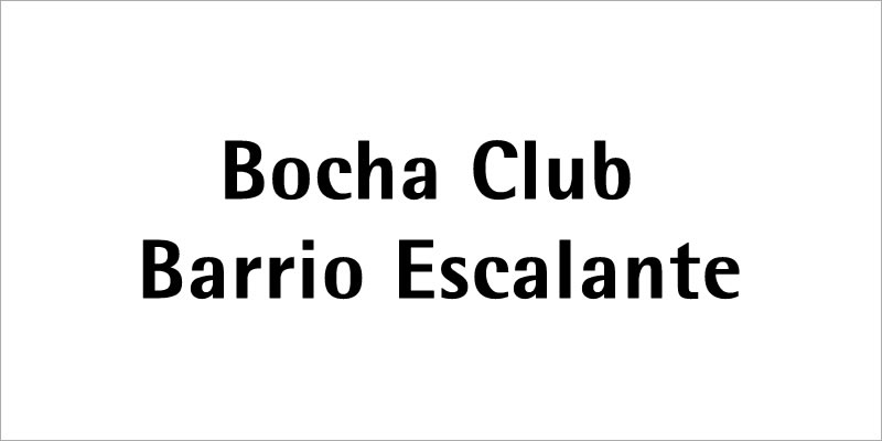bocha club barrio escalante